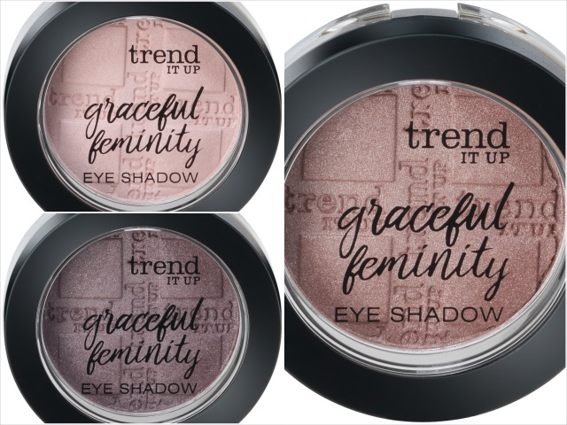 trend IT UP, Graceful Feminity Eye Shadow, LE, Review,