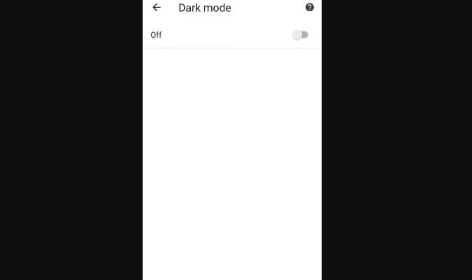 Fitur Dark Mode untuk Google Chrome di Android