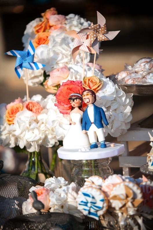 detalle novios boda en mykonos chicanddeco