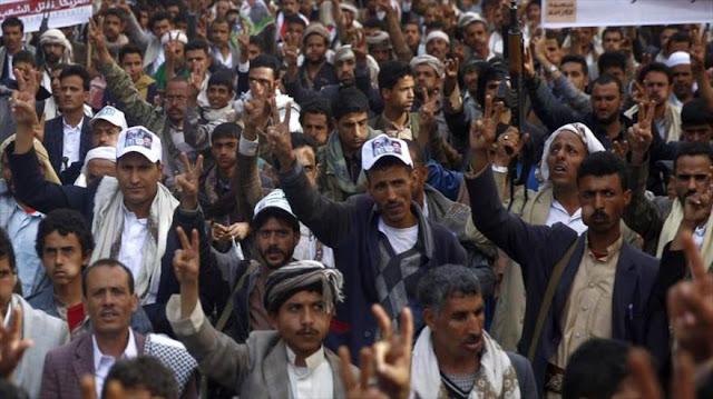 Los yemeníes condenan los ataques del régimen saudí