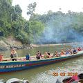 VIDEO: Ini Lokasi Kejadian Long Boat Yang Karam