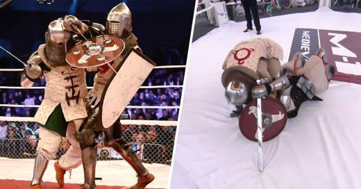 El más brutal Knock Out en las peleas de caballeros