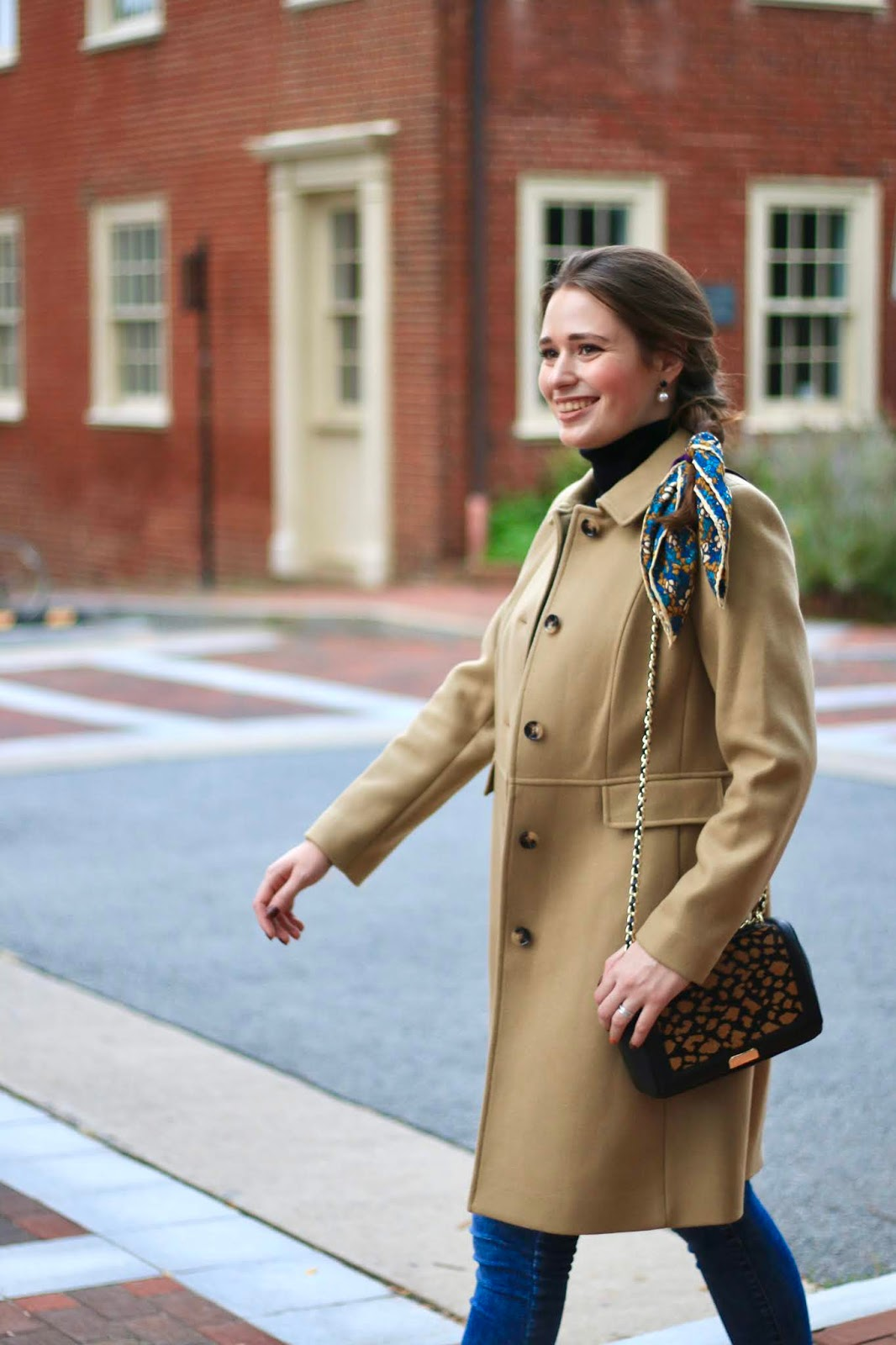 Modern Classic Fall Style with Talbots.   Southern Belle in Training