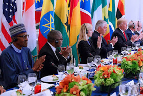 bt2 Photos: Pres. Buhari Exchange Pleasantries With Donald Trump News
