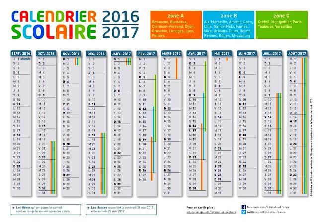 Vacances scolaires 2017 2017 le calendrier officiel Le Monde