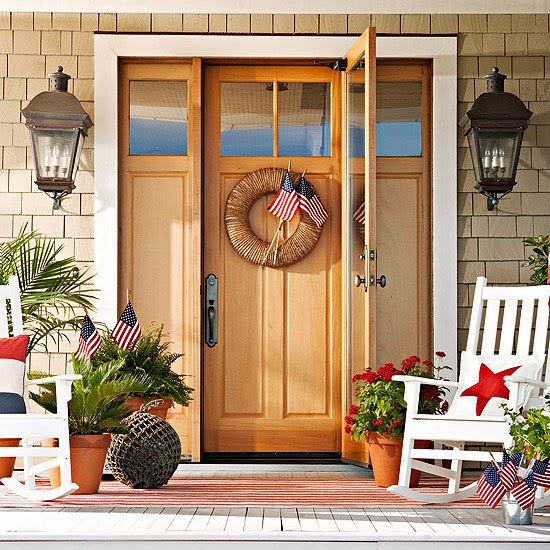 Front Door Entry Ideas: Inside The Brick House: Exterior Door {Front And Back} Ideas