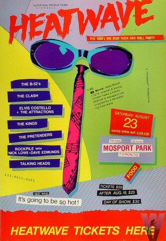 19085284db1 Reliquary  Talking Heads  1980.08.23  Heatwave Festival (Toronto)  SBD