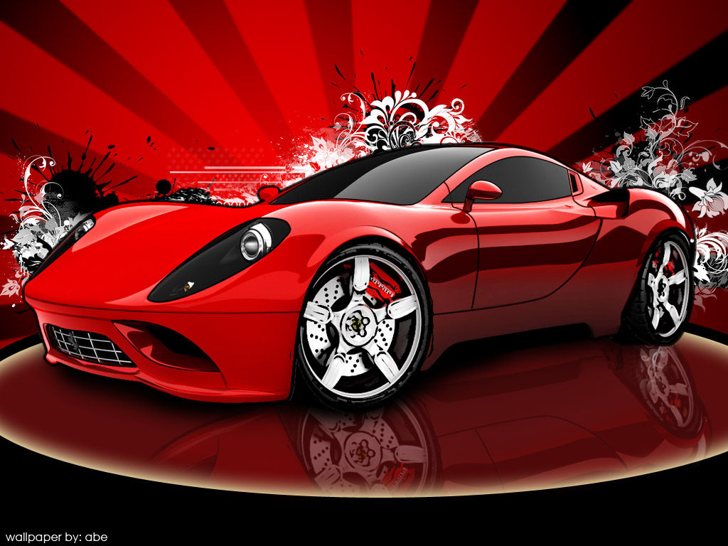 ferrari sports car 2