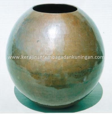 Bowl Mangkuk Kerajinan Tembaga Alumunium Kuningan