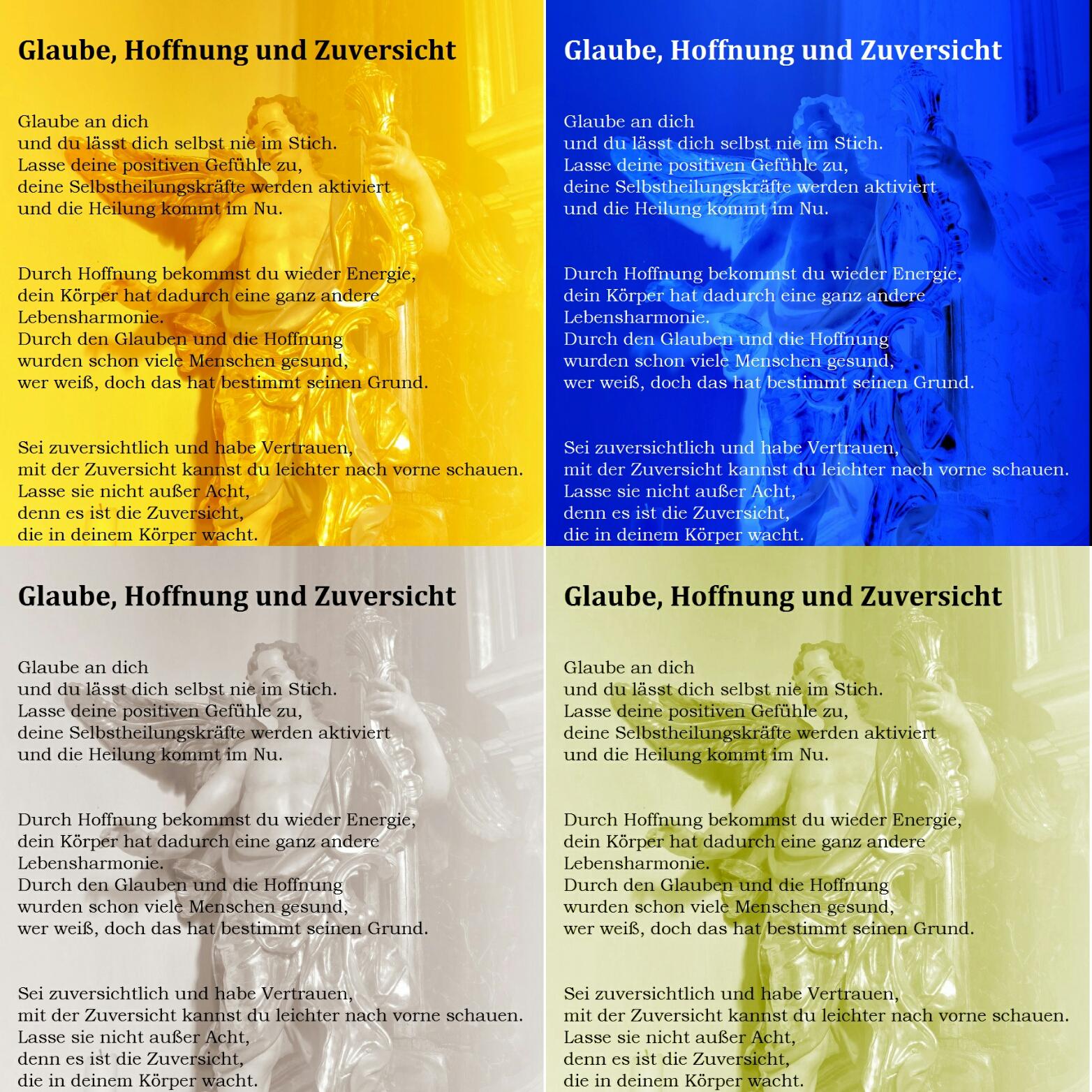 Gedichte Von Nicole Sunitsch Autorin Glaube Hoffnung Und