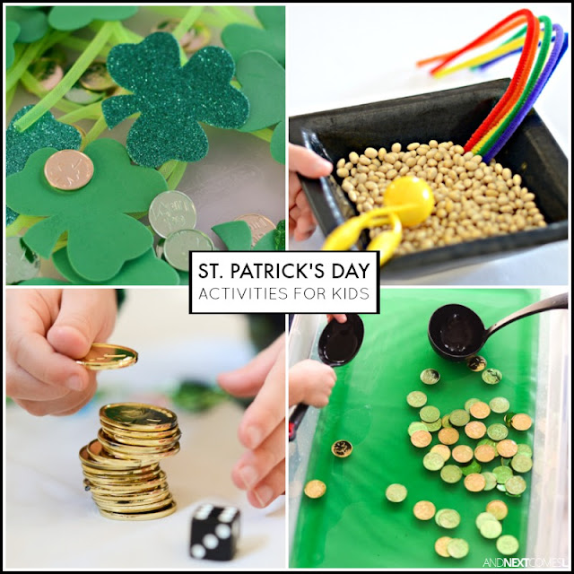 St. Patrick's Day activities and crafts for kids from And Next Comes L
