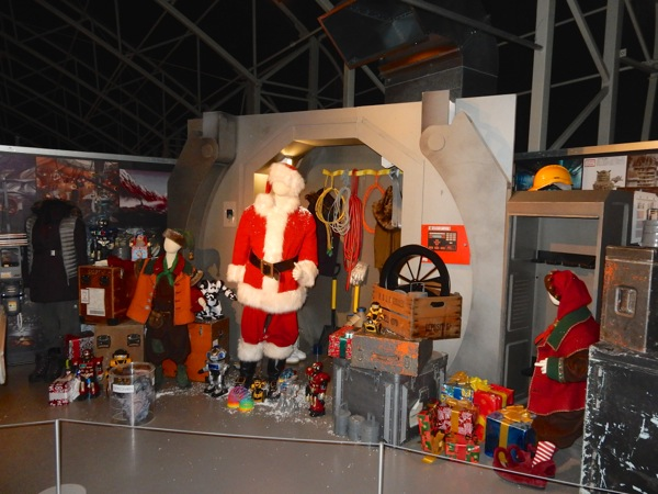 Doctor Who Last Christmas Santa costumes and props
