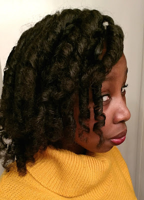 Curlformers on long natural hair - ClassyCurlies