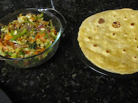 Vegetable Chapati roll 13
