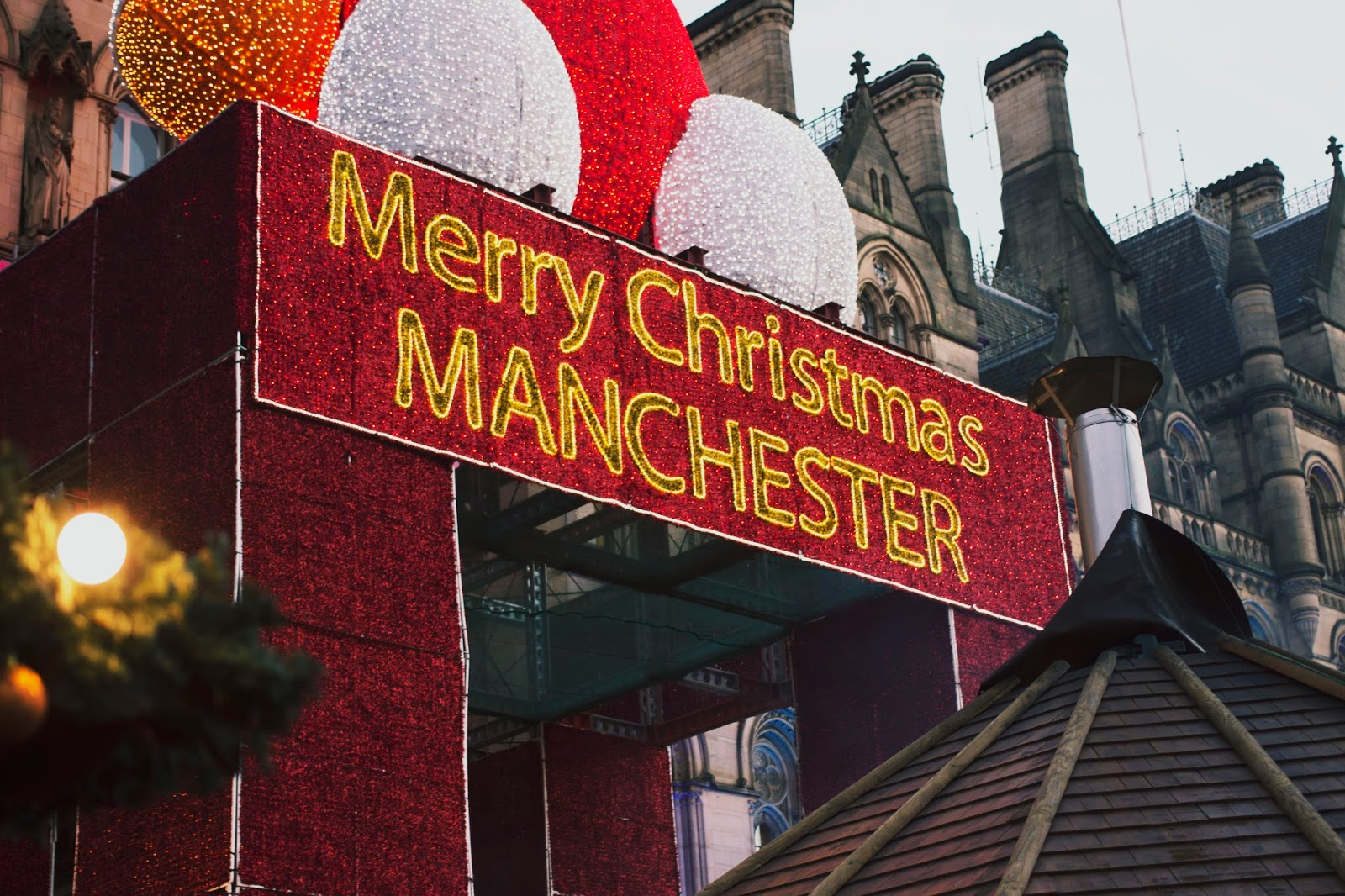 Manchester Christmas Markets 2016, Manchester Christmas Market, Zippy, Santa, Katie Writes, Lights,