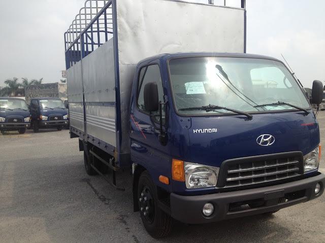 Xe Tải 3.5 tấn Thùng Bạt Hyundai