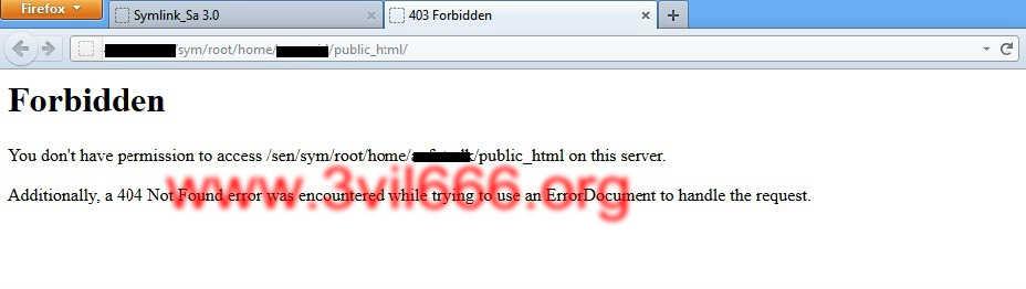 403 forbidden como solucionar