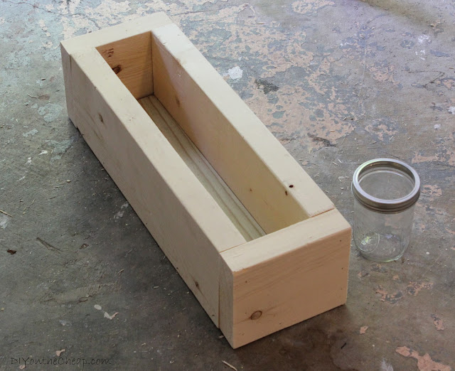 wood scrap box plan