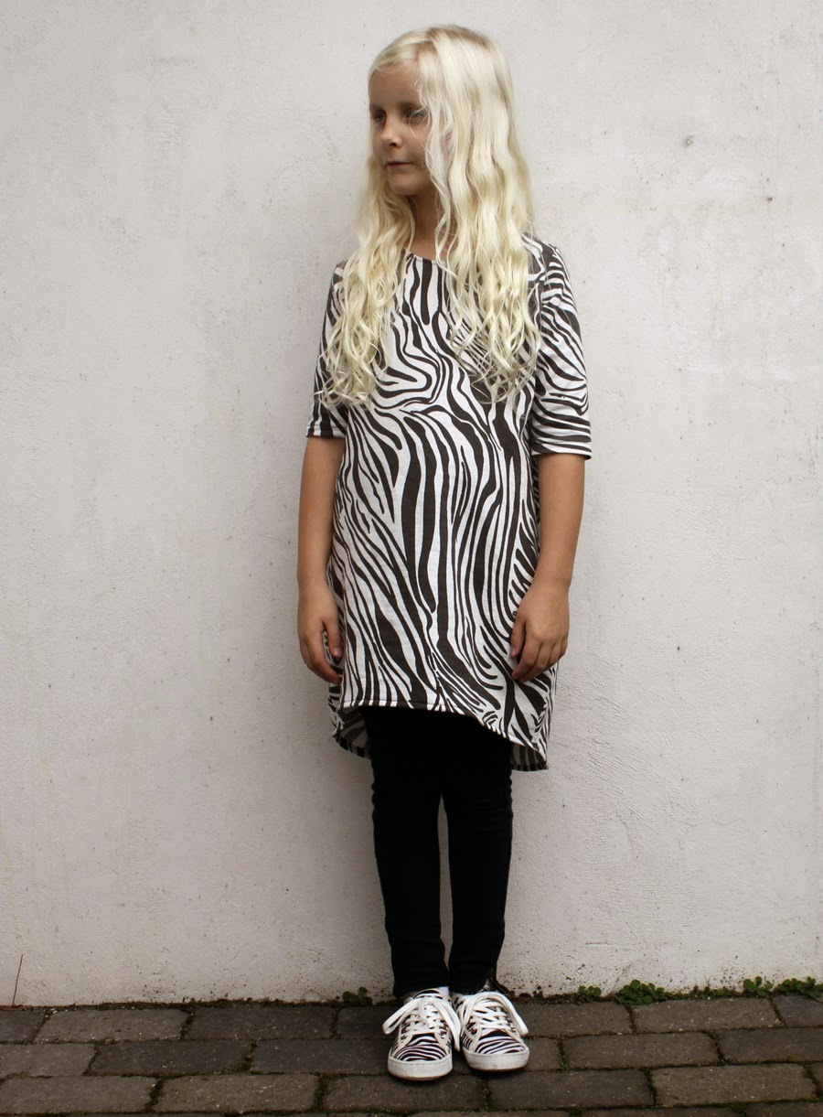 zebra dress animal print