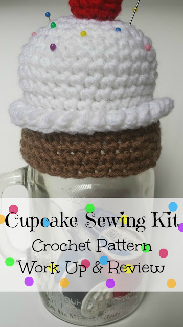 Crochet Patterns Kits : ... Pin Cushion Sewing Kit Combo Crochet Pattern Work Up and Review
