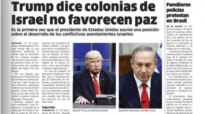 Alec Baldwin's Trump act fools newspaper