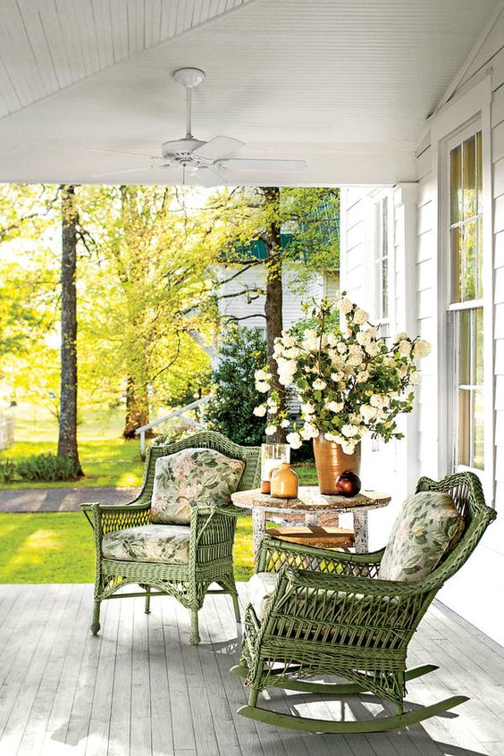 Screened In Porch Decorating Ideas Shabby Chic French Country