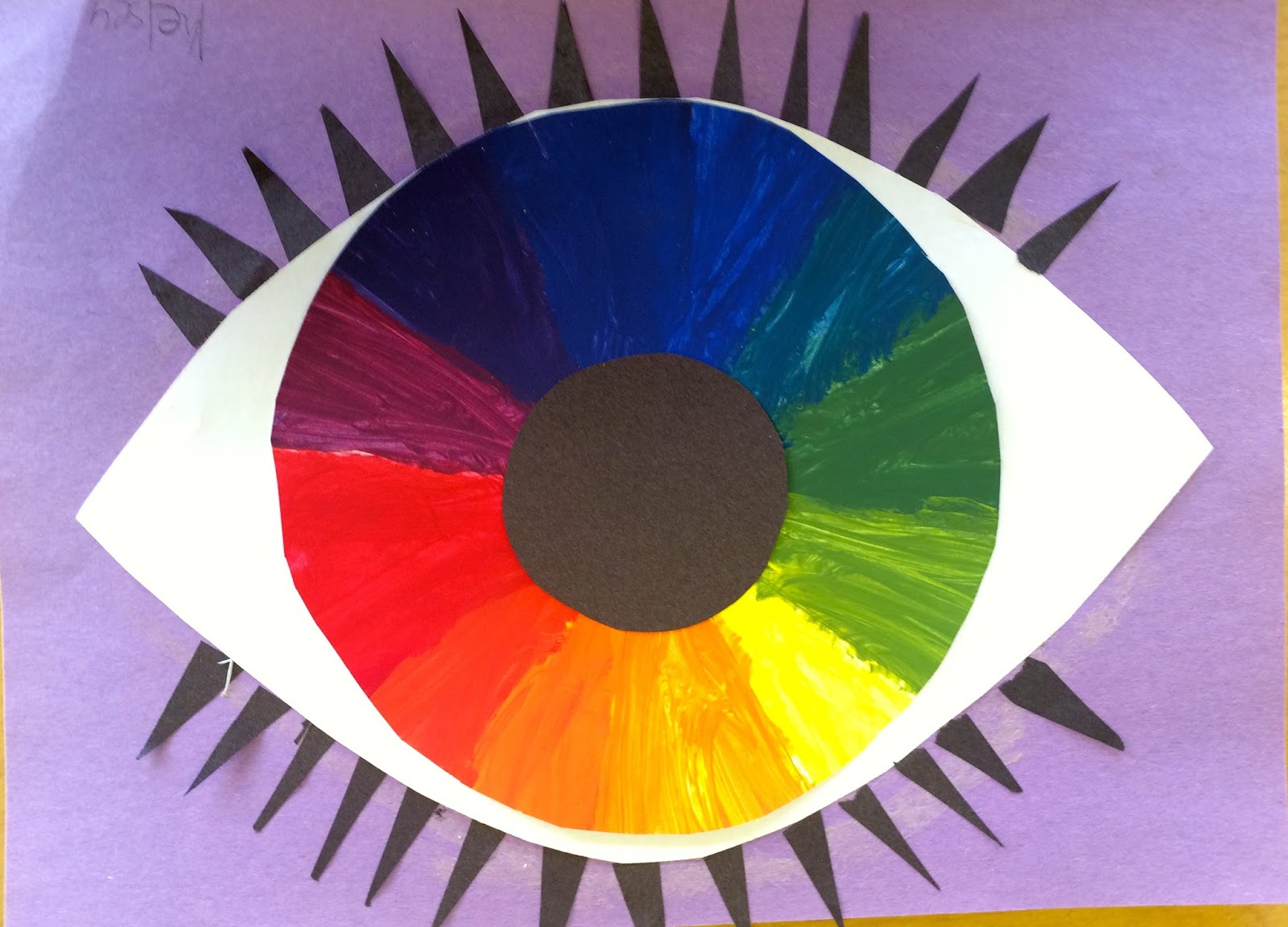 It Wouldnt Be Art Class Without The Good Ol Color Wheel 6th Grade First Was Spent Drawing And Dividing Into 12 Even Sections