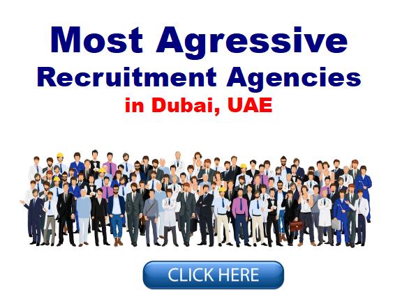 Most Agressive Recruitment Agencies in Dubai UAE - Job Guide