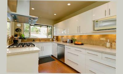Mid Century Modern Kitchen Table Glen Iris Eagle Rock White Color Cabinet Photo Picture