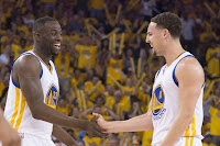 Celebrate for Warriors' loss against Kings, DRaymond and KLay