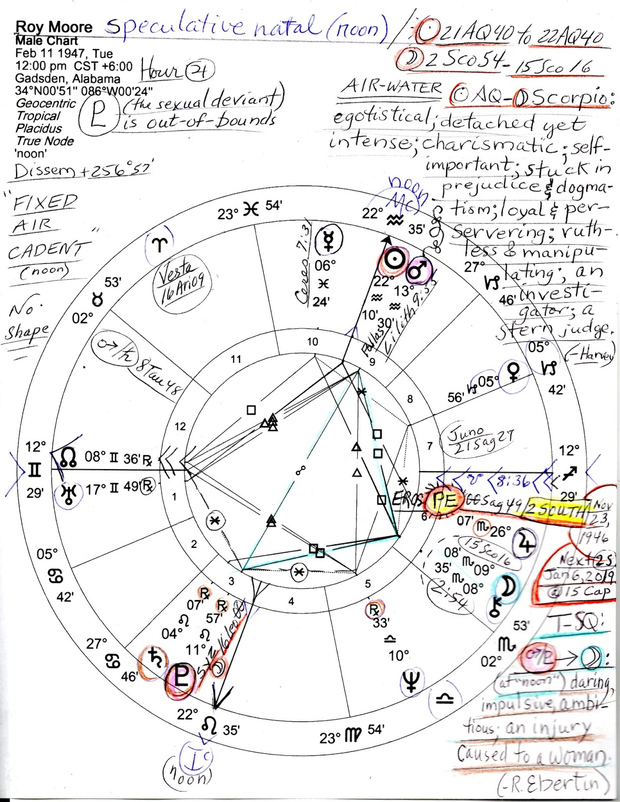 Stars over washington horoscope roy moore feb 11 1947 image a speculative noon horoscope of judge roy moore of alabama born roy stewart moore in gadsen al on february 11 1947 after trumps june 14 nvjuhfo Gallery