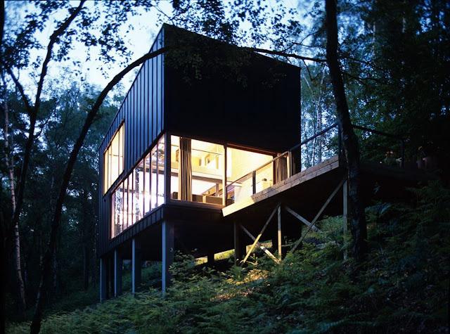 Pavilion In the Woods by Stekke + Fraas