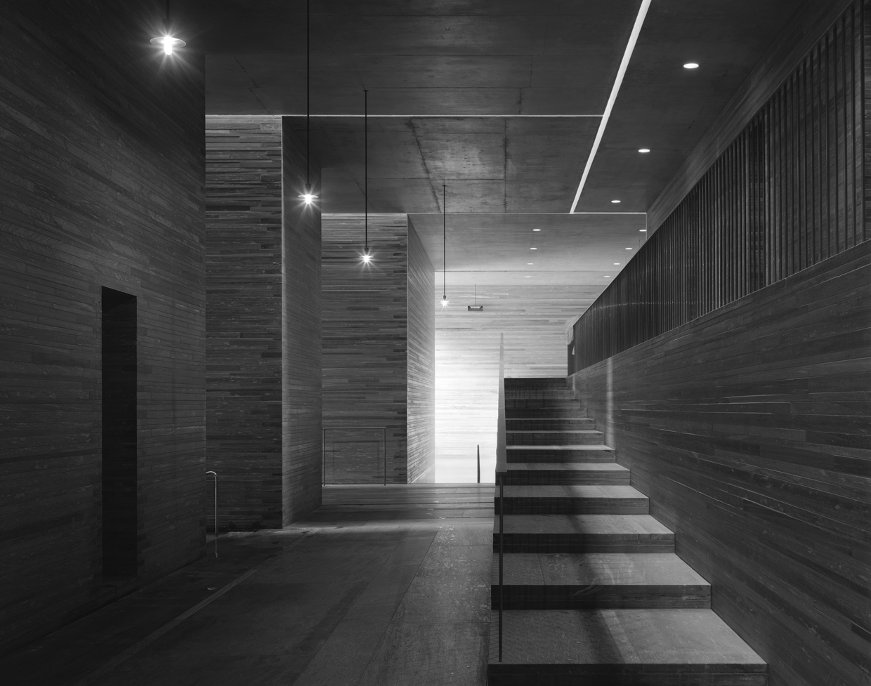 Void matters architecture references therme vals by for Design hotel vals
