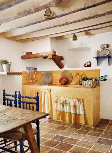 Blog de mbar muebles c mo decorar una cocina de campo for Casa y campo muebles