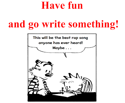 Have Fun and Write Something