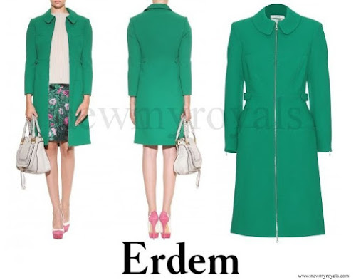 ERDEM Allie coat from the Pre-Fall 2013 Collection