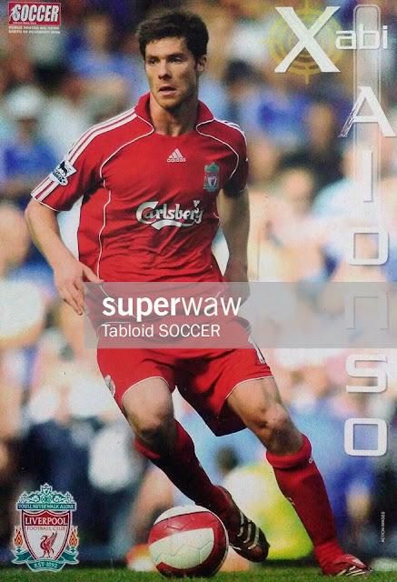 Xabi Alonso Liverpool 2007