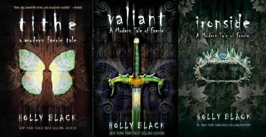 portadas libros trilogía El tributo de la corte oscura holly black
