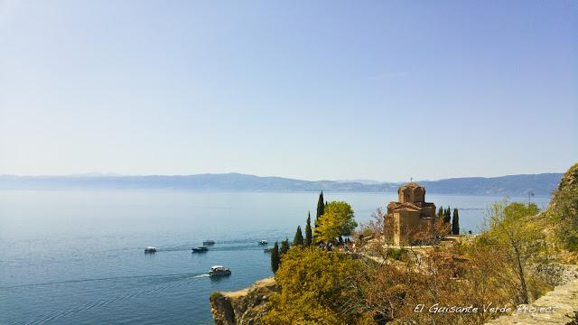Iglesia del apóstol San Juan, Kaneo, Ohrid - Macedonia por El Guisante Verde Project