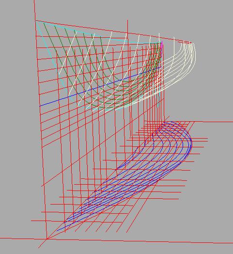 Yacht design progettazione nautica vettorializzare un for Creare piani di costruzione