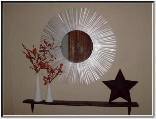 Craft Mirror Designs Art Craft Ideas Projects