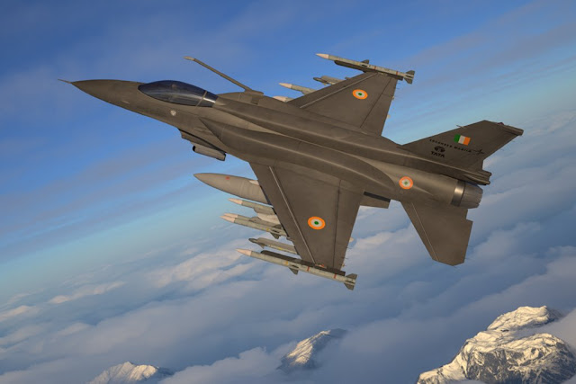 Lockheed Martin unveils the new F-21 fighter jet during Aereo India 2019