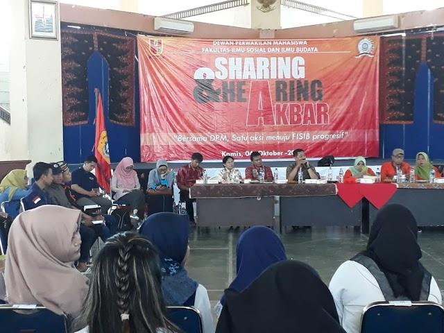 Lebih Progresif dan Akseleratif Melalui Sharing-Hearing