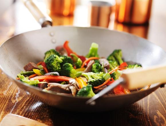 Verduras Con Quinoa Al Wok