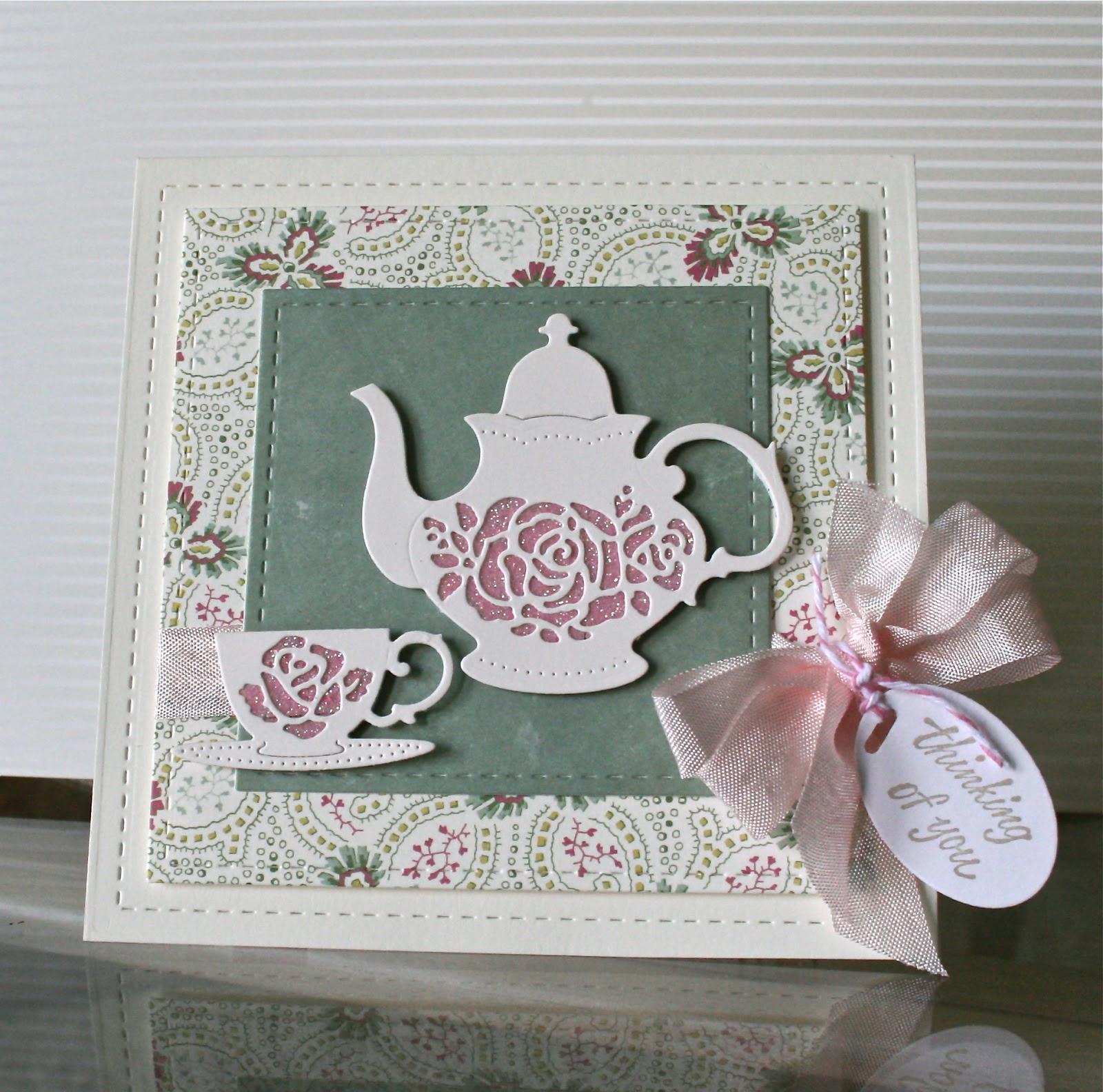 Пригласительные на чаепитие своими руками