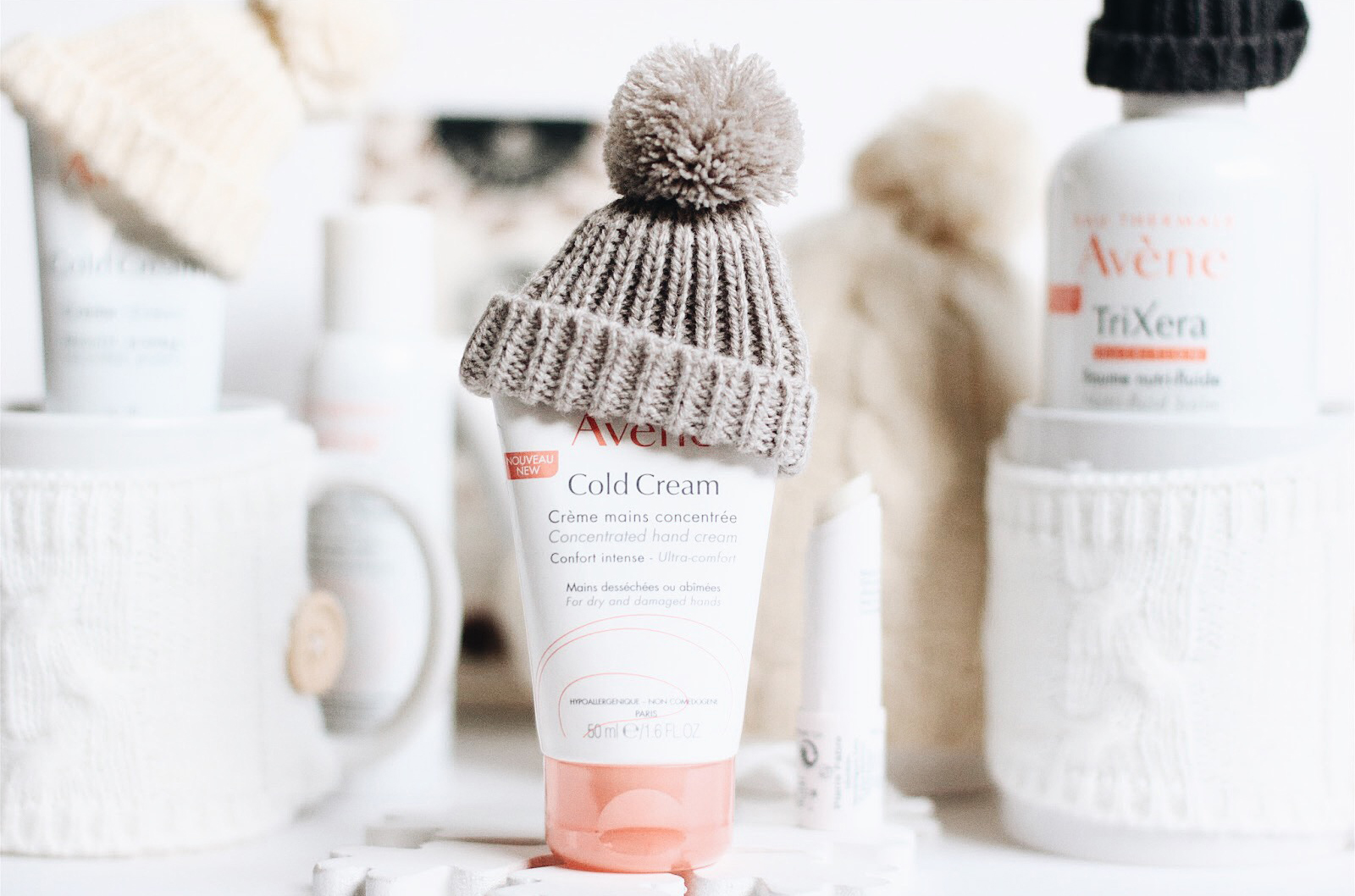 avene cold cream creme mains stick lèvres
