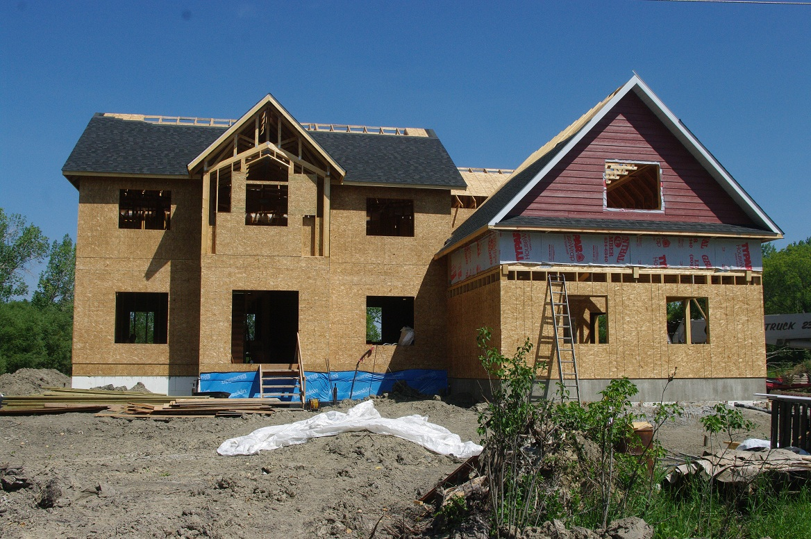 It Looks So Good All Our Hard Work Is Paying Off We Have A Roof House And That Built Unbelievable