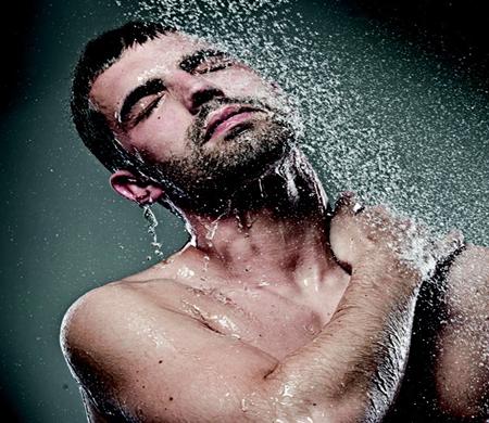 Banhos com água fria