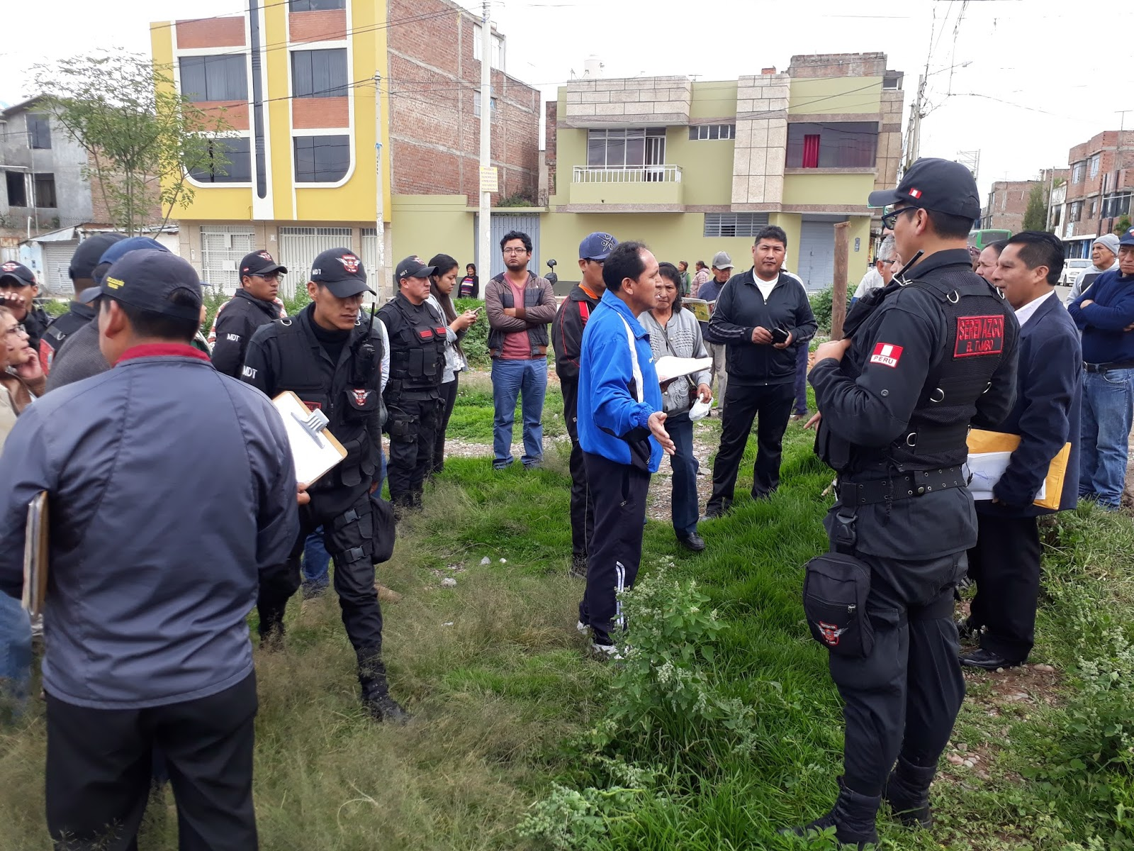 MDT desaloja a traficantes de terrenos destinadas a parque de La Paz