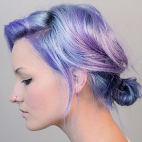 Zilah Inolvina: Pastel Hair Dye DIY